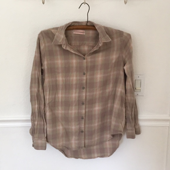 Urban Outfitters Tops - Urban Outfitters soft plaid cotton flannel, S/P